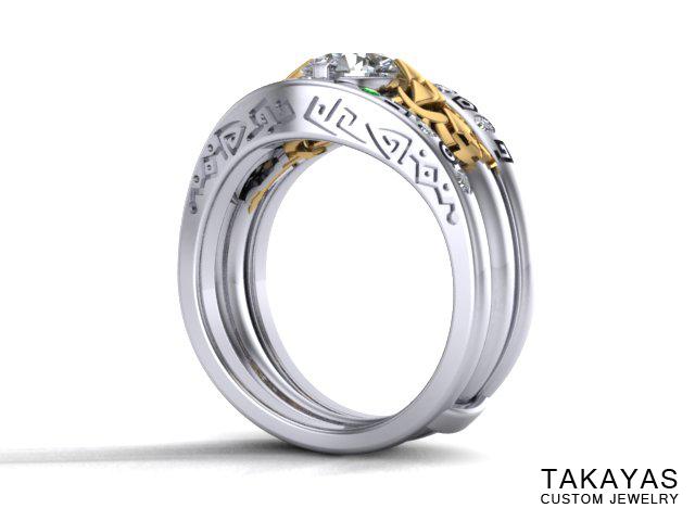 Zelda Gate of Time Ring Takayas Custom Jewelry 3