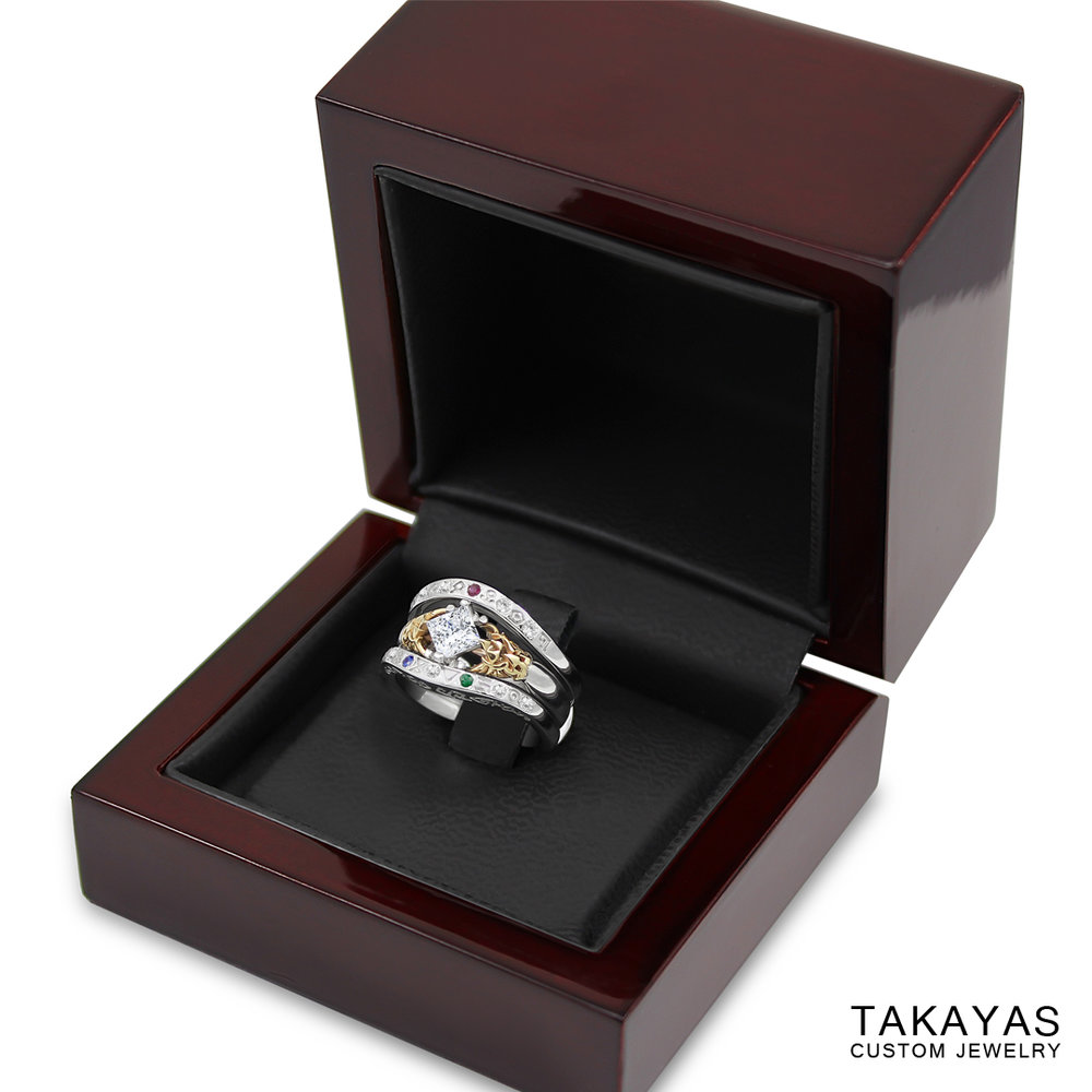 Zelda Gate of Time Ring Takayas Custom Jewelry 34
