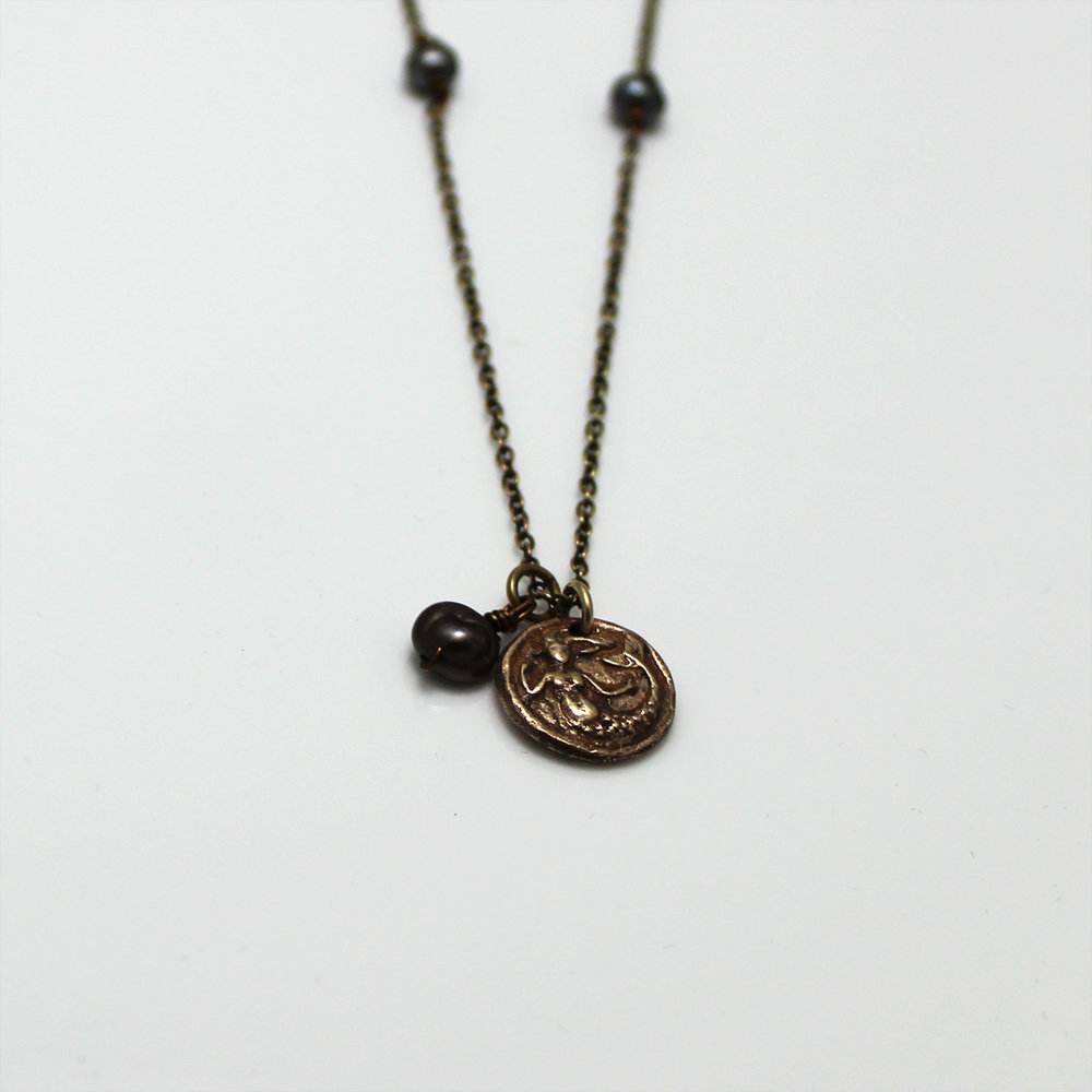 original mermaid pendant takayas custom jewelry