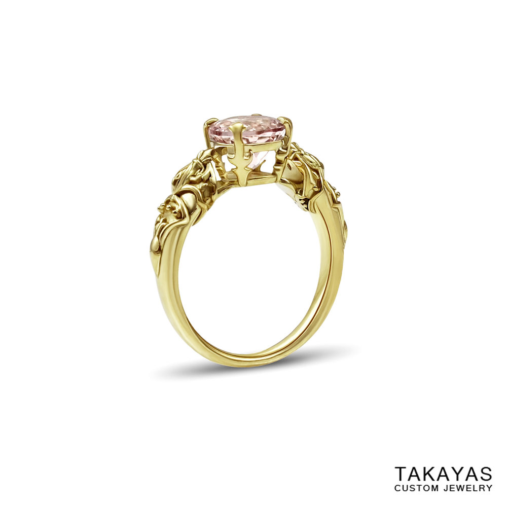 queen nanamo final fantasy engagement ring takayas custom jewelry 1
