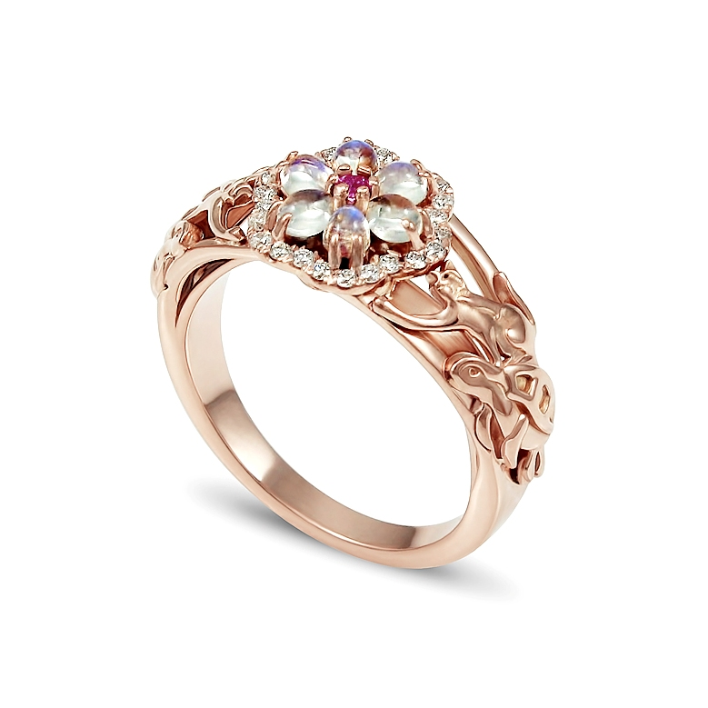 thumbnail-14K-rose-gold-cat-turtle-moonstone-engagement-ring-Takayas-Custom-Jewelry-side.jpg