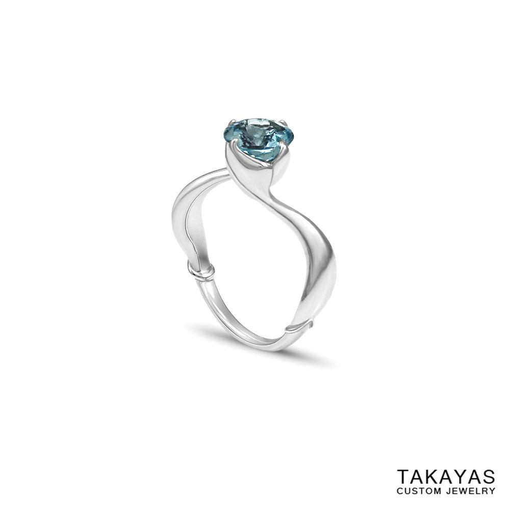 mermaid-aquamarine-ring-side-takayas-custom-jewelry