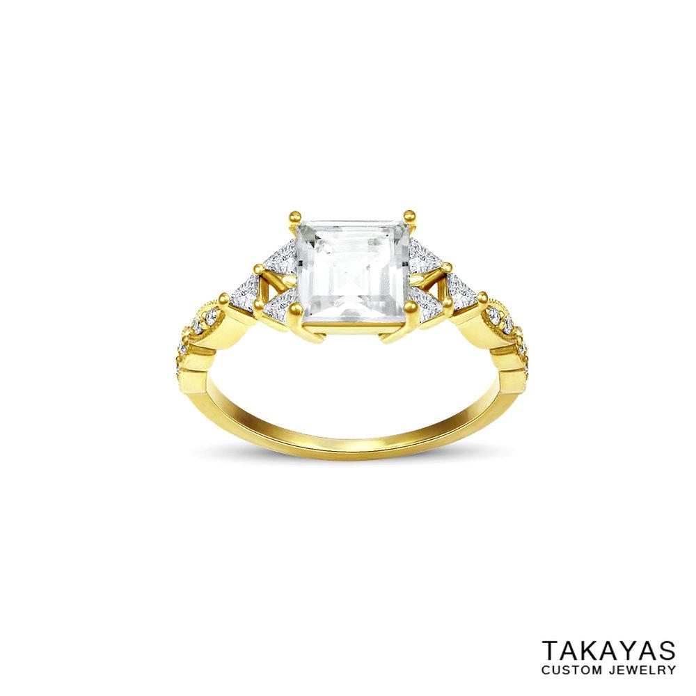 18K-zelda-milgrain-moissanite-triforce-ring-takayas-custom-jewelry-front