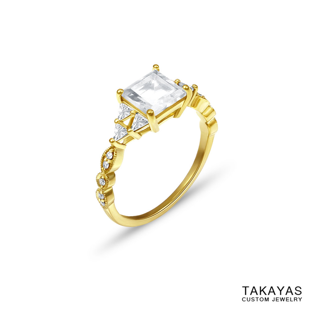 18K-zelda-milgrain-moissanite-triforce-ring-takayas-custom-jewelry-side
