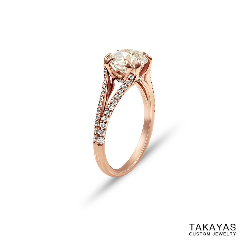 sailor-moon-rose-gold-engagement-ring-takayas-custom-jewelry-angle-view