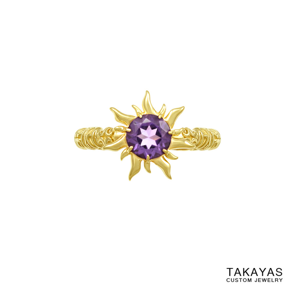 tangled-amethyst-ring-takayas-custom-jewelry-front