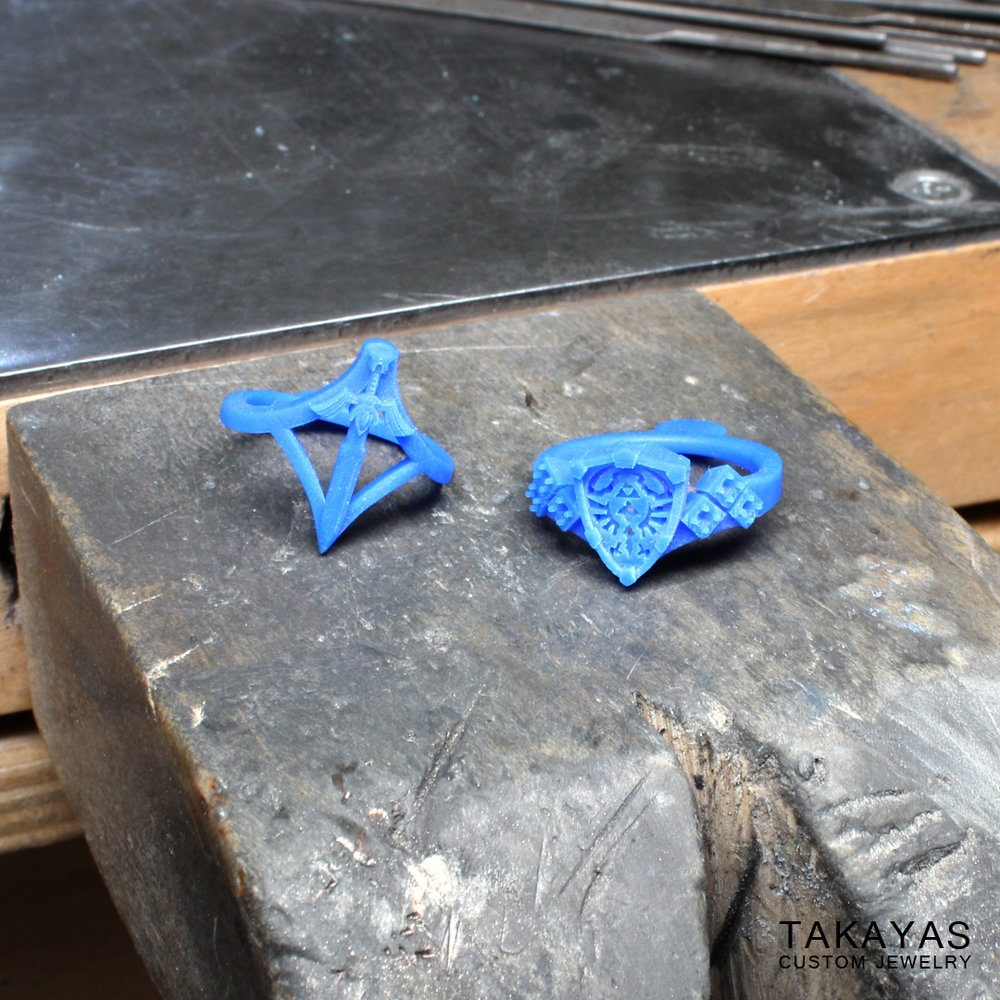 zelda-shield-sword-ring-wax-models-takayas
