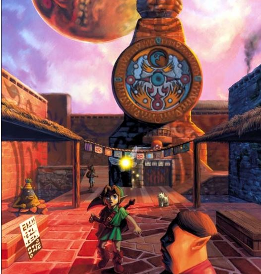 Zelda Clock Tower Clock Town