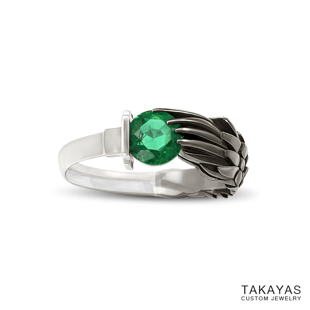 emerald-black-rhodium-sephiroth-ring-takayas