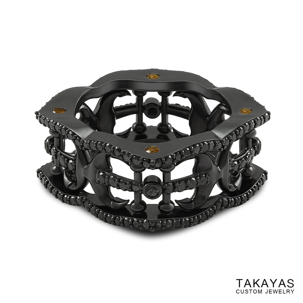 black-diamond-anchor-wedding-band-takayas