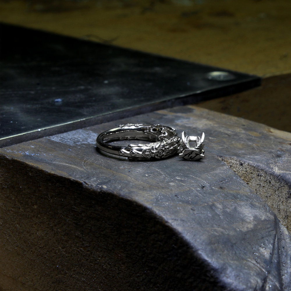 white-mage-ring-casted-pieces