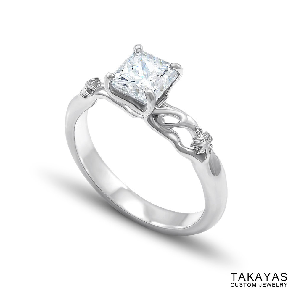 elven-radiant-diamond-leaf-engagement-ring-takayas