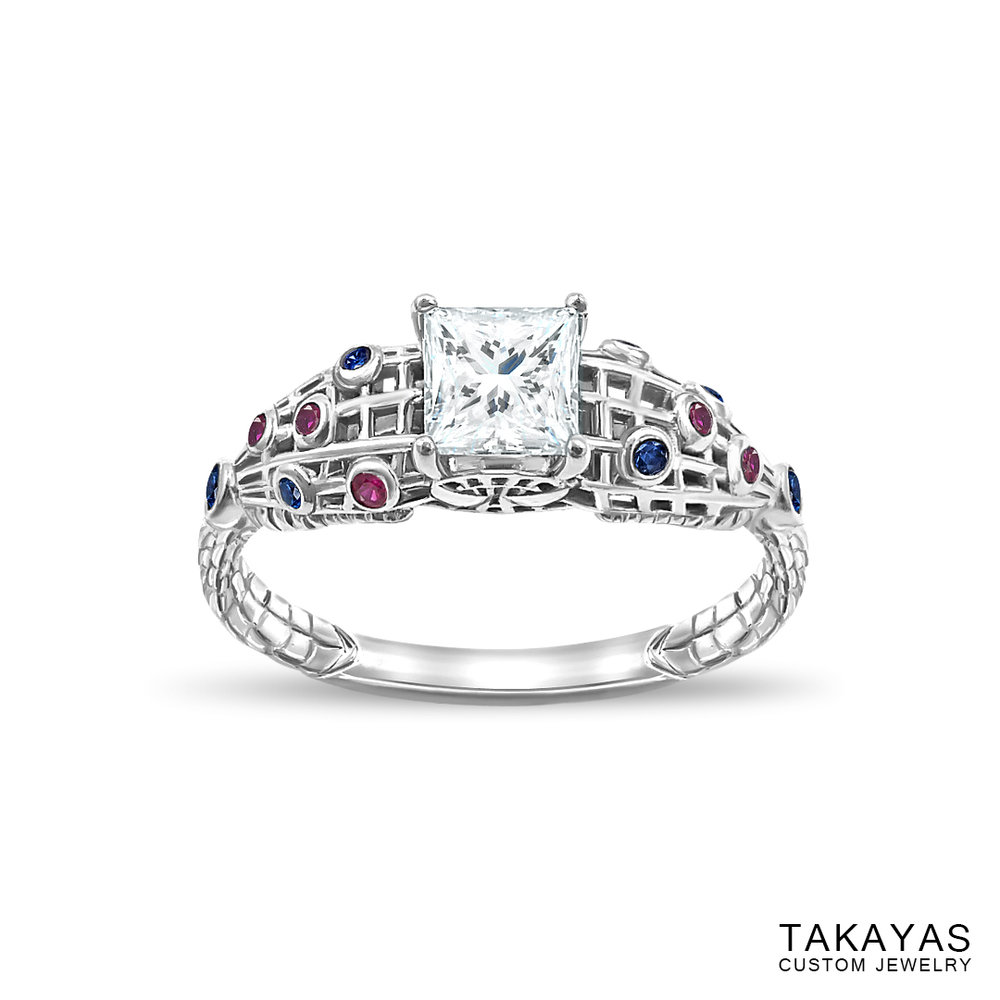 The Amazing SpiderMan Inspired Engagement Ring Takayas