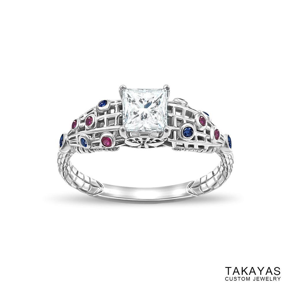 The Amazing SpiderMan Inspired Engagement Ring Takayas