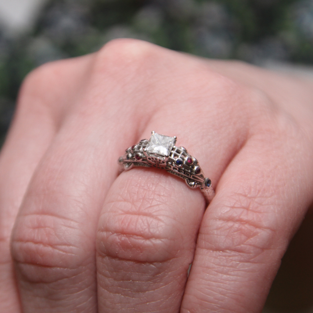 The Amazing Spider-Man Inspired Engagement Ring — Takayas