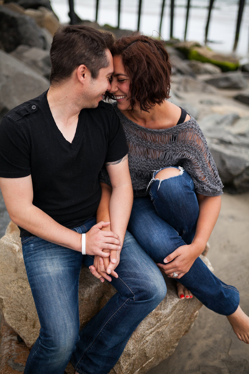 photograph from Chris and Tish's engagement shoot by Sierra Solis Photography