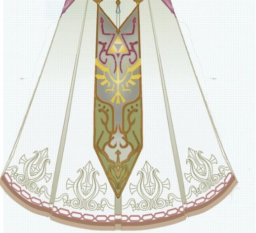 Princess Zelda's skirt