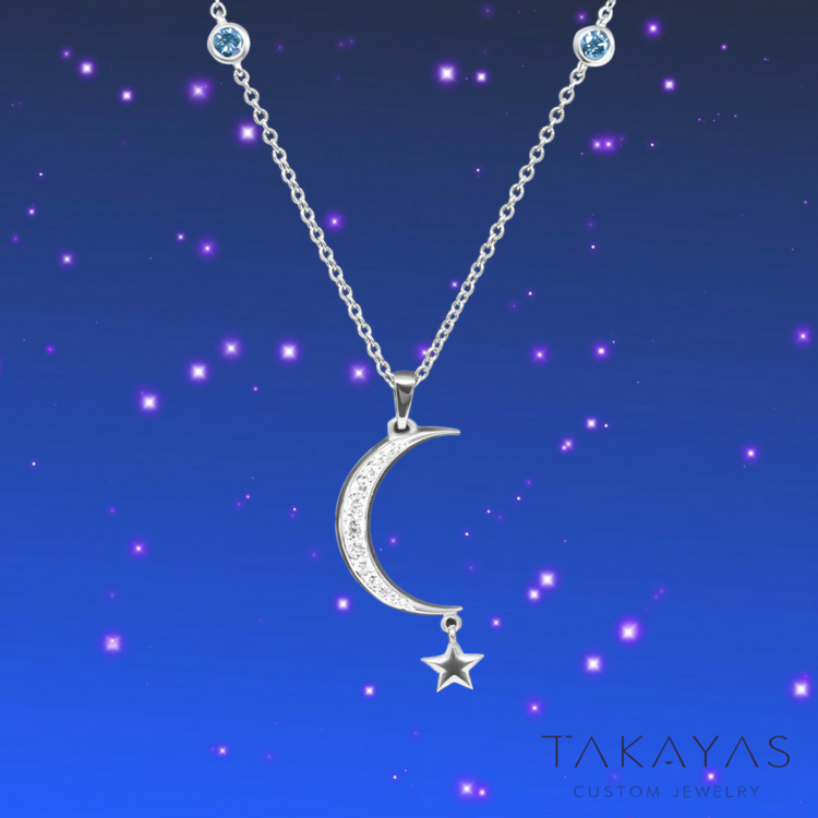 Final Fantasy Xv Inspired Luna Necklace Takayas
