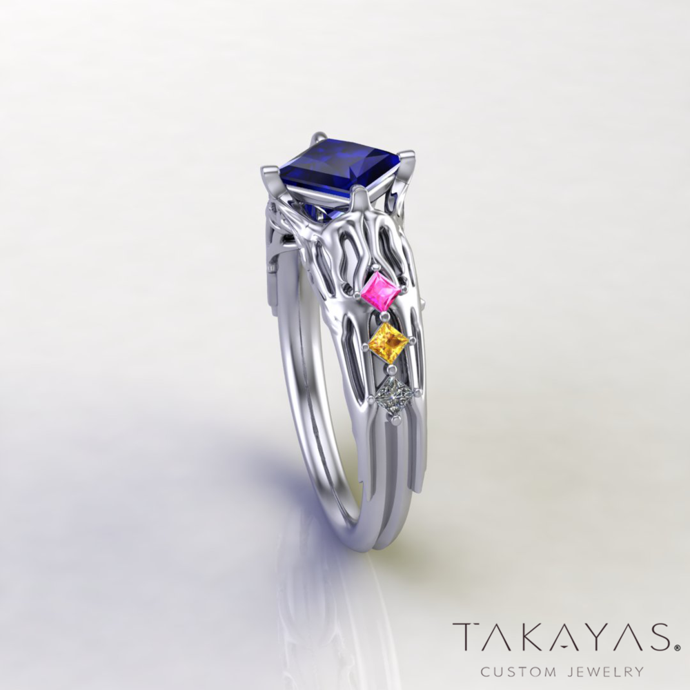 Final-Fantasy-XIII-Lightning-Inspired-Engagement-Ring-2