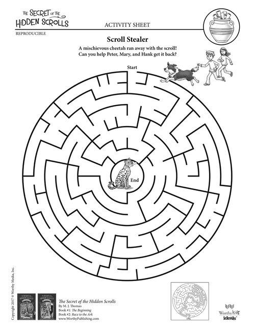 Activities Secret Of The Hidden Scrolls