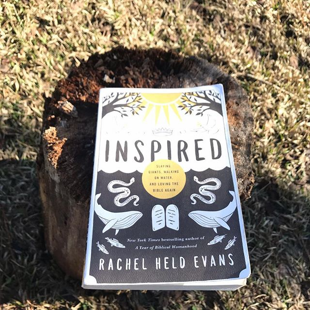 🥁 (drum roll) . The votes have been tallied and our January discussion will be on Rachel Held Evan's book Inspired! . Grab a copy where books are sold and join the conversation. . Read at your own pace. . Join at any time. . Post your own pics and quotes and start a discussion of your own using #thebackporchbookclub . We will start on Monday! . #amreading #bookclub #bookstagram #rachelheldevans #backporchbookclub #newyearnewbook