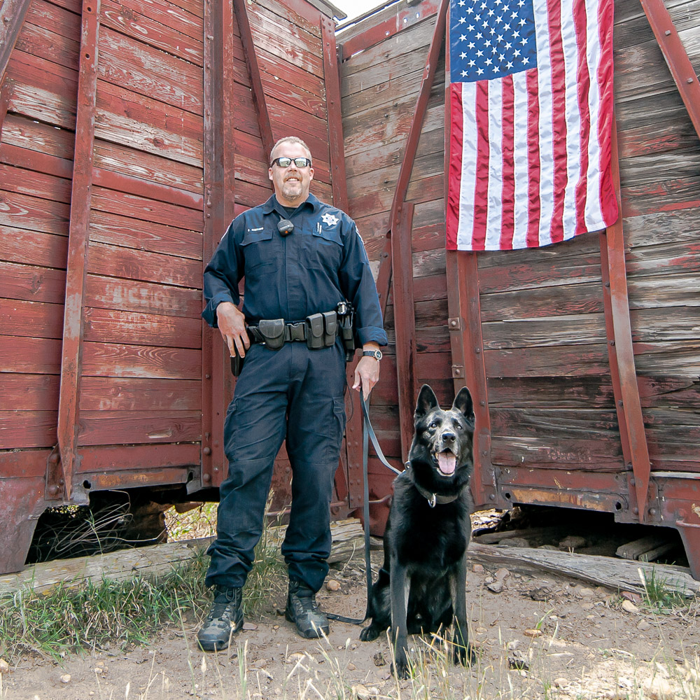 Deputy Robinson &K9 Vulcan