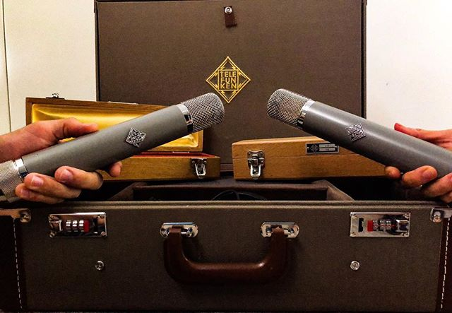 """If there were ever a microphone that was the epitome of classic, hi-fidelity sound, it would be the Austrian-designed C12"" - @telefunken_mics"