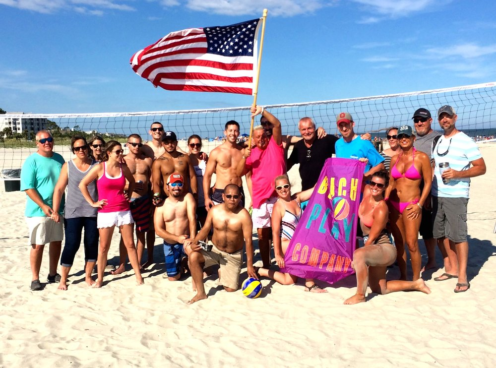 """""""Owner Ken Weisner set up the best Birthday Party for us on the beach. We had such a great time. Your the Best . You Rock. I would give it 10 Stars. I highly recommend to schedule your event.    — Rick Davis Savannah, GA"""