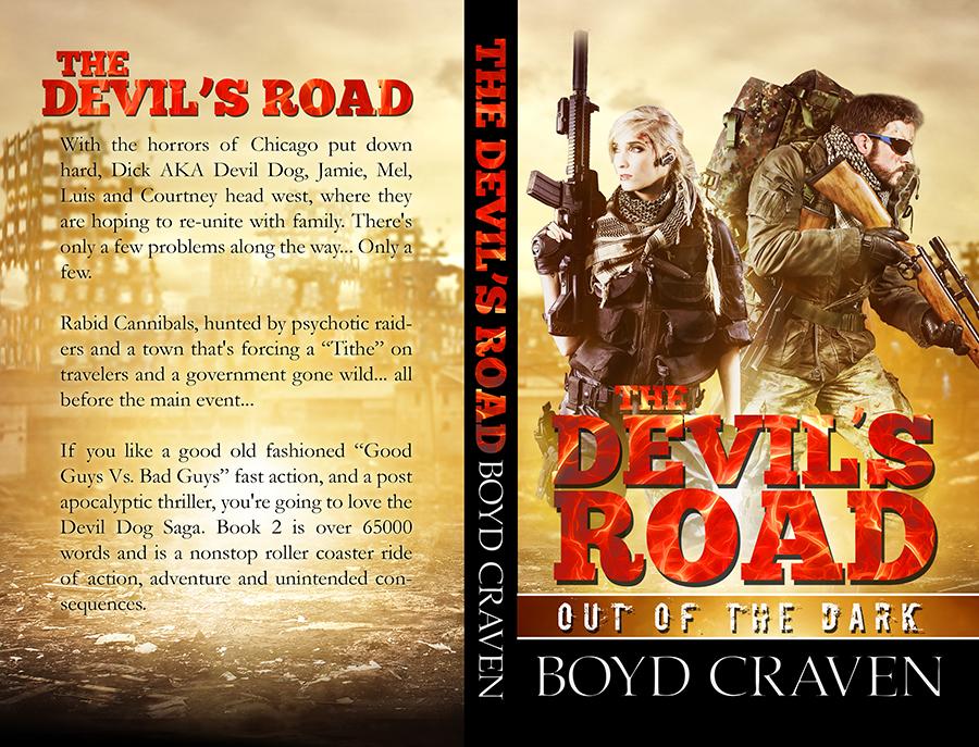 Boyd Craven - The Devils Road - Createspace - black spine.jpg
