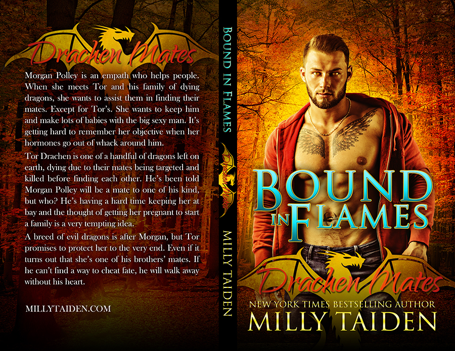 Milly Taiden - Bound in Flames - Drachen Mates 1 - CreateSpace.jpg