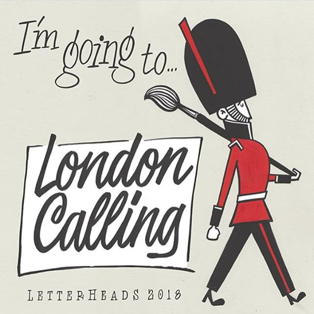 We are so excited to be heading to London today for #londonletterheads and #grandexhibitionpvs !!!