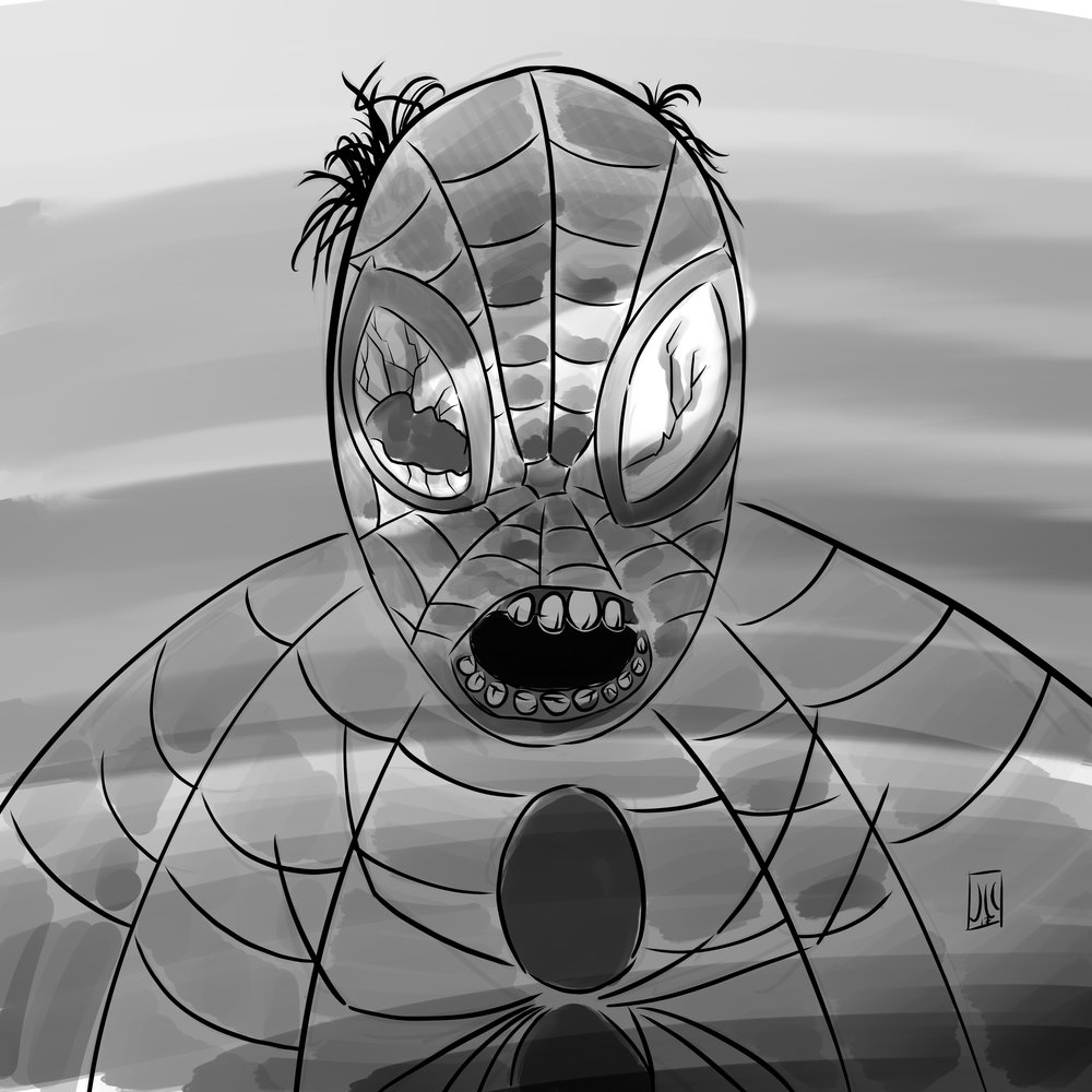 Zombie Spider-man