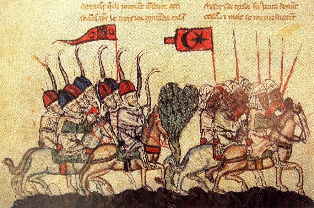 Mongols and Mamluks at The Battle of Wadi al-Khazandar in 1299