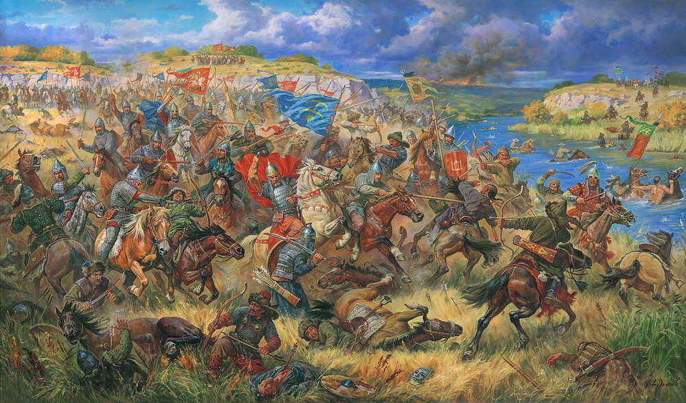 The Mongols - Provinces will fall, along with entire kingdoms, as a host of cabals vie for control of the medieval world. But there's a dark and dusty cloud rolling in from the east—the Mongols. They'll trample your holdings and leave them in ashes, removing them from the game. The player who survives the onslaughts of rivals and Mongols with the most province victory points wins.