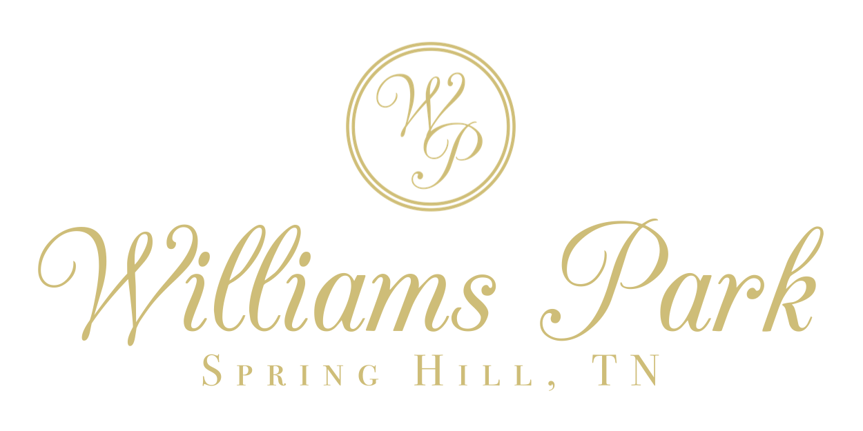 Williams Park | HOA | Sub Division | Neighborhood | Spring Hill, TN