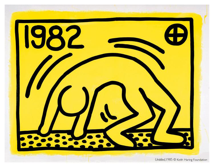Keith Haring, 1985