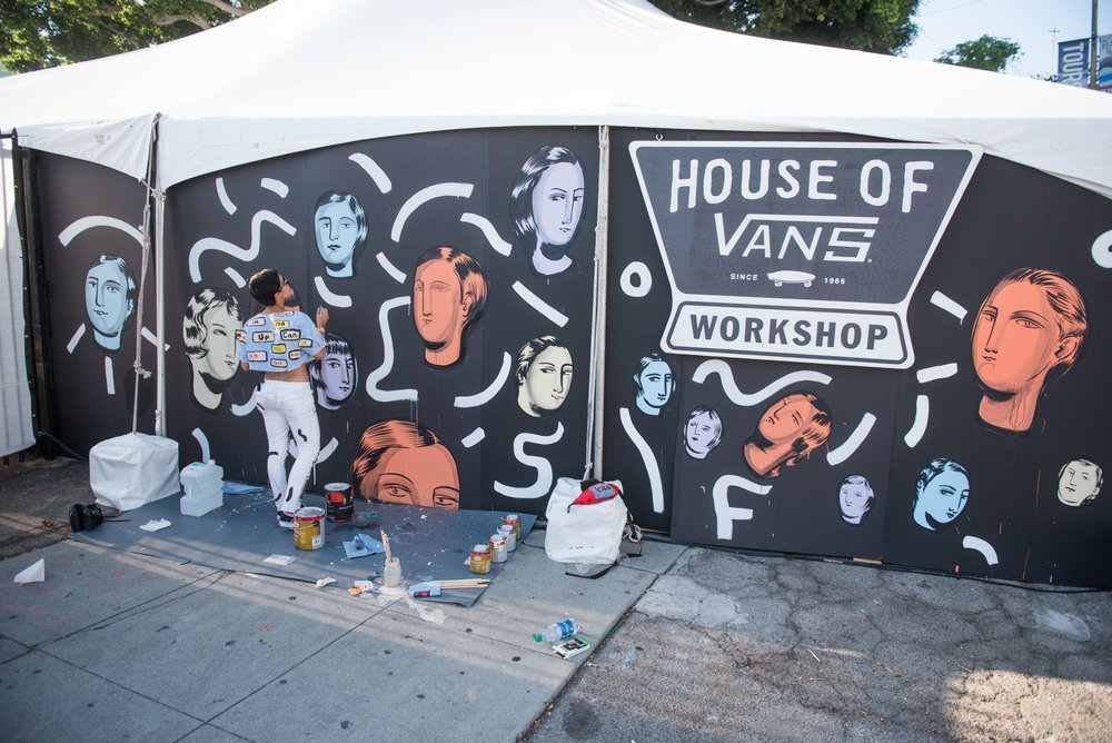FYF Festival Vans House Los Angeles CA 2017