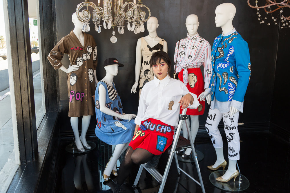 Combining Fashion and Art in Designs - Written By: Kelly EmmerPhotographed By: Jane Chouteau