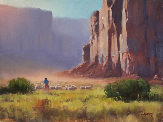 Rasberry_Navajo Sheep Herder 12x16[LR] 2018.jpg