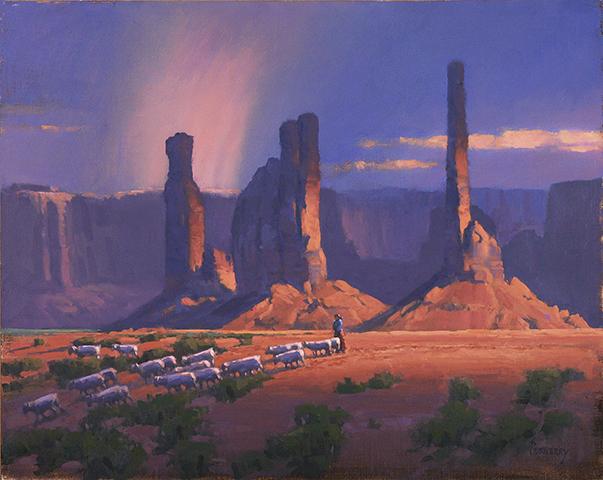 Monument Valley Cloud Break 16X20 [WEB].jpg
