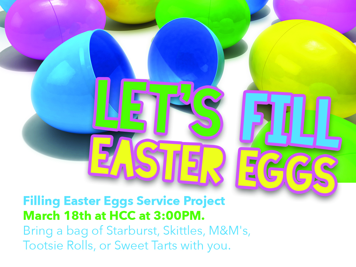 Filling Easter Eggs Service Project Hilliard Church Of Christ