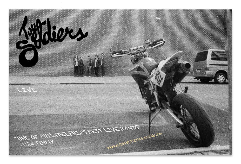 Toy Soldiers Tour Poster | Photo by Cheater Slicks