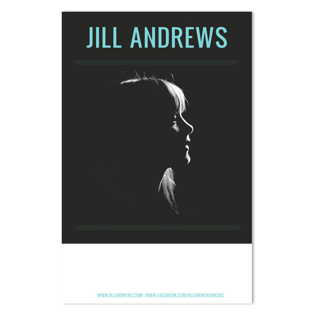 Jill Andrews Tour Poster |  Photo by Jed Whitley