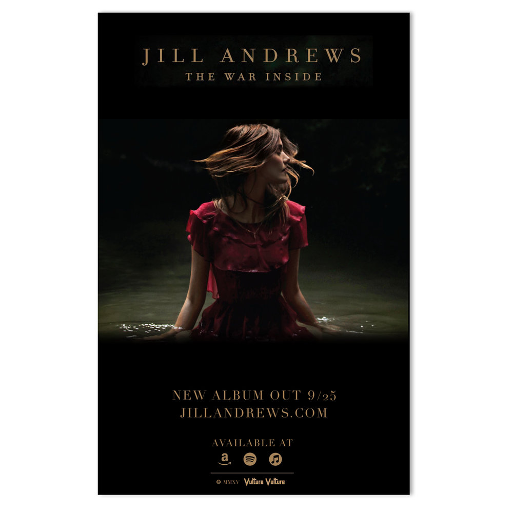 Jill Andrews Retail Poster