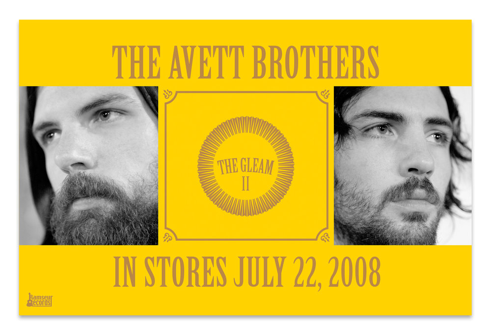 The Avett Brothers Retail Poster | Photos by Crackerfarm, Album Art by Scott Avett