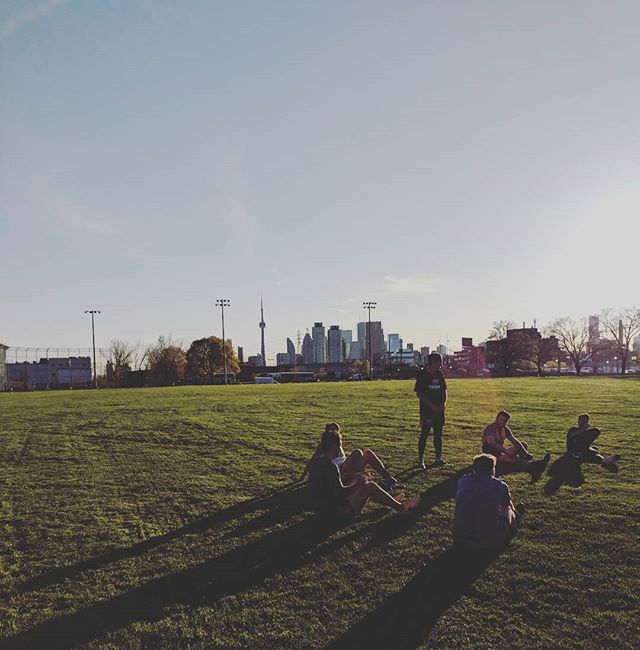 Footy is back.  Training @ McCleary Park every Thursday at 6pm. All levels welcome. Tag a mate. . . . .  #aflo #footy #hawkcity #torontosports #aussies