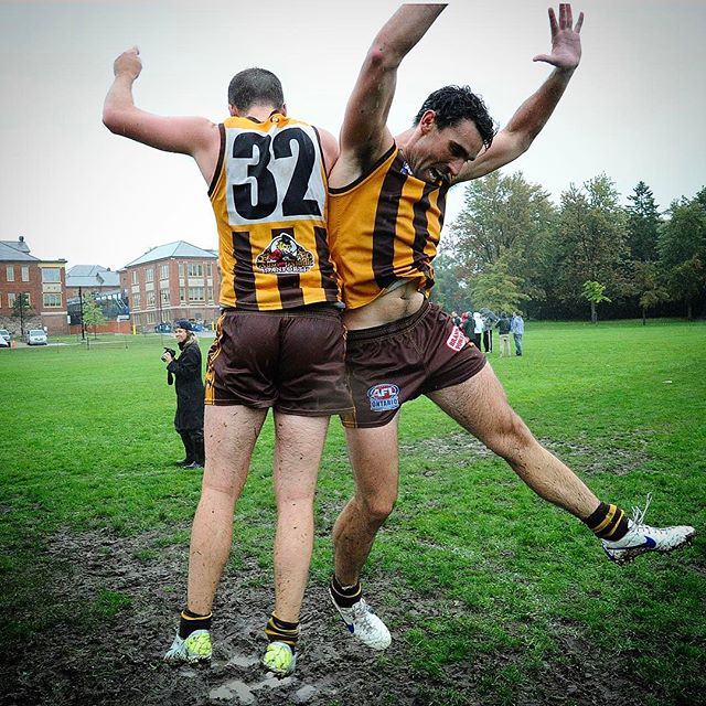 Round 1 - Let's do this. Hawk City V High Park Demons. Tomorrow 12pm.