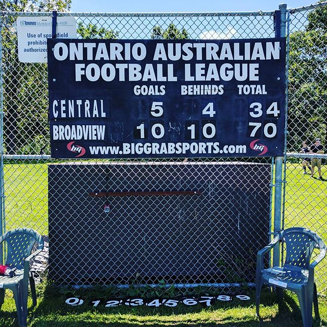 Big win for the Hawks today in a hard-fought game vs the Blues!! #footy #torontosports #aussierules #hawks #hawkcity