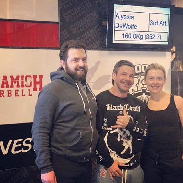 This past weekend our #rathletes competed in @rawplcanada hosted by @crossfitsquamish. ・・・ @jonnyactual went 8/9 lifts hitting 165 kg back squat, 115 kg bench press and 198 kg deadlift. PRs on the squat and bench 💪🏼! ・・・ @raincitydentist set three national records with his 170 kg back squat, 142.5 kg bench press and 192.5 kg deadlift 🔥! ・・・ @izzyhourigan at her first every PL meet hit a 100 kg back squat, 55 kg bench press and 120 kg deadlift. ・・・ #raincityathletics #raincityathls #rathletes #community #raevent #raincityevents #competition #crossfit #functionalfitness #litbyliz