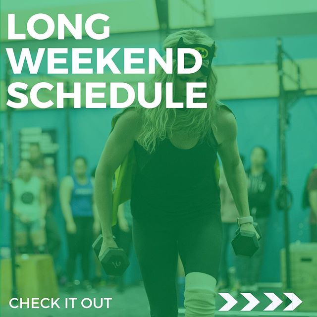 Hey #Rathletes, Reminder we are running a few changes to the schedule for the upcoming Long weekend! ・・・ 📷: @athlete_inside  #raincityathletics #rathletes #crossfit #community #findyourfit  #fflyvr #ffl #functionalfitnessleague  #raincitynews #familyday #raincityschedule #raschedule
